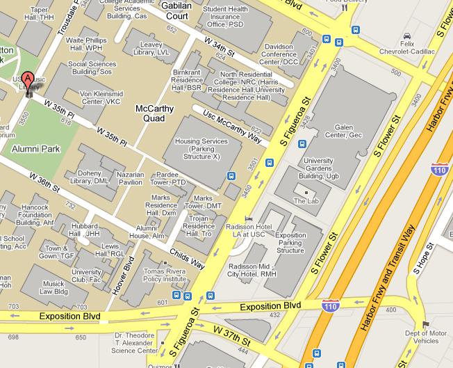 USC big map